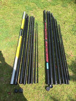 13m Ron Tompson PowerTool+13m Leeda PowerHouse Extreme Poles