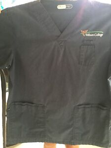 Like new Trillium college scrub shirt