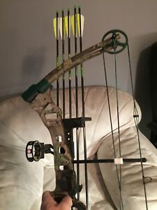 BEAR ELEMENT COMPOUND BOW NEW CONDITION