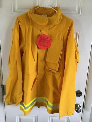 Firefighter Wildlandbrush Jacket With Reflective Stripes 2xl Nwt Barrier Wear