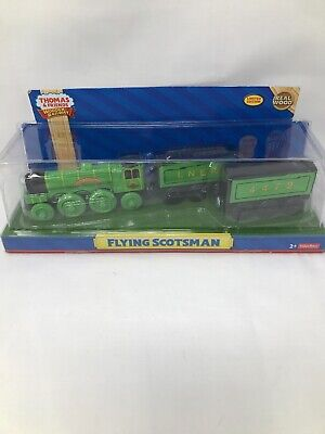 THOMAS & FRIENDS WOODEN RAILWAY ~ FLYING SCOTSMAN ~ EXTREMELY RARE ~ NEW IN BOX