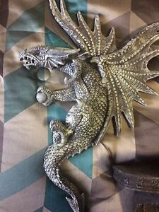 Dragon decorations wall coffee table candle holder