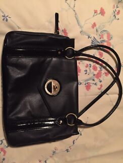 Mimco Black Leather Handbag North Plympton West Torrens Area Preview