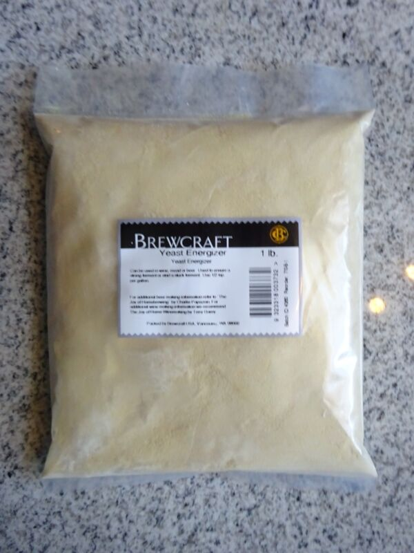 Brewcraft Yeast Nutrient Energizer 1 Lb Beer - Wine - Moonshine. Free Shipping!