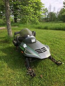 Running arctic cat pantera