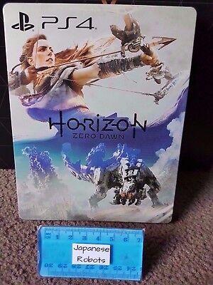 Horizon Zero Dawn Limited Collectors Edition Steelbook Steel Metal Case