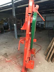 Post rammer.  Farming fence tractor post thumper Tyers Latrobe Valley Preview