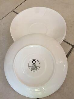 Tea cup plates. Brand Vue & Spode Plates and Tea Cup Set | Dinnerware | Gumtree Australia Gold ...