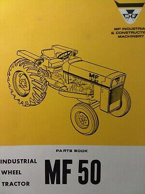 Massey Ferguson Mf 50 Diesel Gasoline Farm Agricultural Tractor Parts Manual 69
