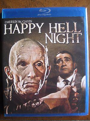 HAPPY HELL NIGHT (1990) (Blu-Ray) CODE RED - DARREN McGAVIN - BRAND NEW!!!