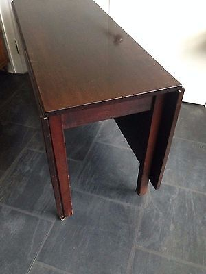 Mahogany Drop Leaf Dining Table - possibly Georgian