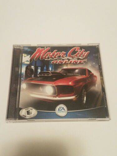 Vintage EA Motor City Online PC, 2001 - Clean Disc - Free Shipping  - $10.99