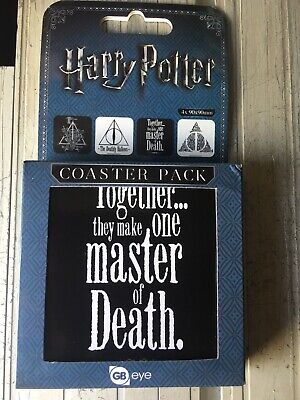 Harry Potter Coaster Set. New. SEE DESCRIPTION