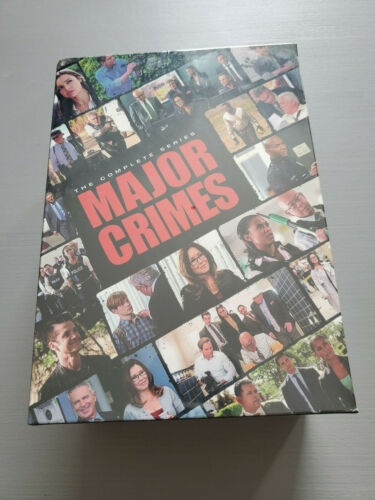 Major Crimes: The Complete Series Seasons 1-6 (DVD, 2017)