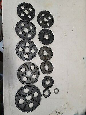 Atlas Craftsman Lathe 12 Thread Change Drive Gear Lot