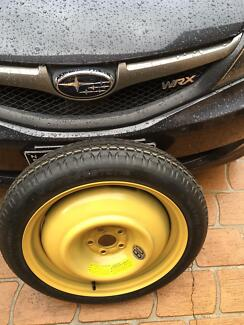 WRX spare tyre Swansea Lake Macquarie Area Preview