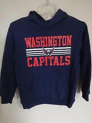 NWOT Washington Capitals Hoodie Sweatshirt Youth Medium NHL Official Merchandise Washington Capitals Merchandise