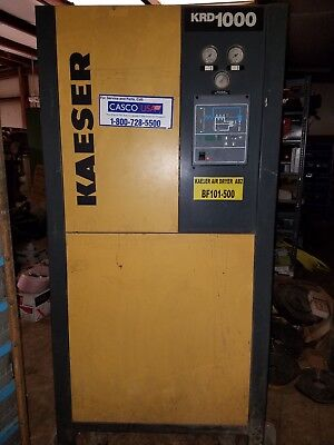 Kaeser Krd1000 Refrigerant Air Dryer 480vac 1000 Cfm Running Take Out