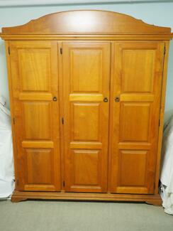 Silky Oak Wardrobe