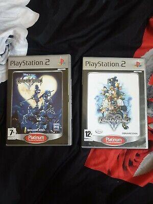 Sony Playstation 2 PS2 Kingdom Hearts 1 & 2