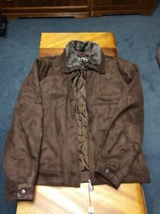 Brand new leather coats