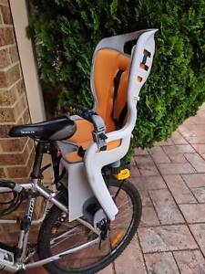 Bicycle child seat. Max carry load of 22kg.