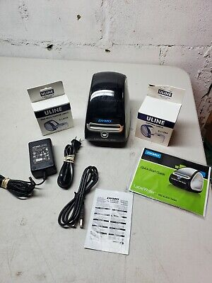 Dymo Labelwriter 450 Thermal Label Barcode Receipt Printer W Labels Cords Ppwk