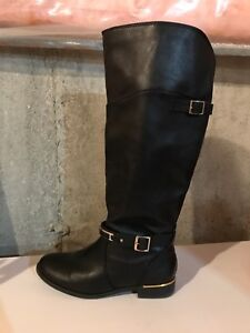 SPRING women's leather tall boots