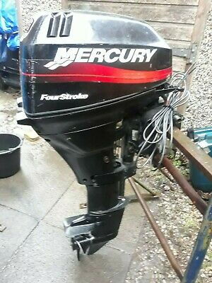 MERCURY OUTBOARD 15HP 4STROKE  YEAR 2001 LONGSHAFT