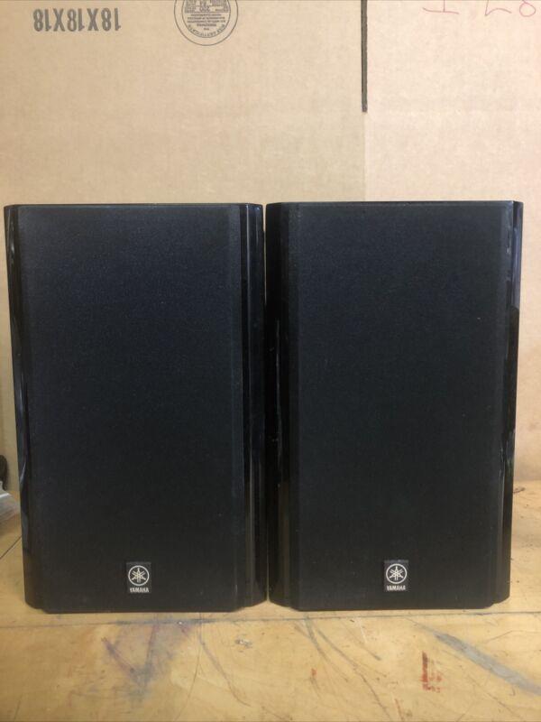 Yamaha NX-E800 Wood Speakers 60w Speaker Cabinet Black Pair