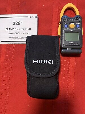 Hioki Digital Clamp On Hitester 3291 3291a981-00 07-06h Working Condition