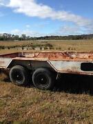 tandem trailer,plant,16x8 Castlemaine Mount Alexander Area Preview