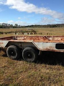 tandem trailer,plant,16x8 Castlemaine Mount Alexander Area Preview