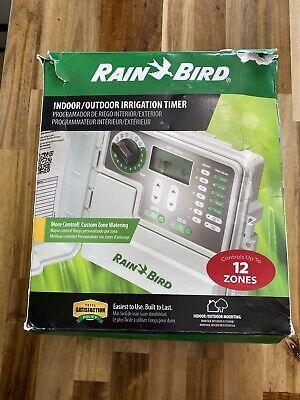 Rain Bird Indoor/Outdoor Irrigation Timer - 12 Zones #SST - 1200 New Open Box