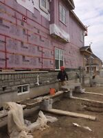 Experienced Bricklayer and Stonemason Contractor