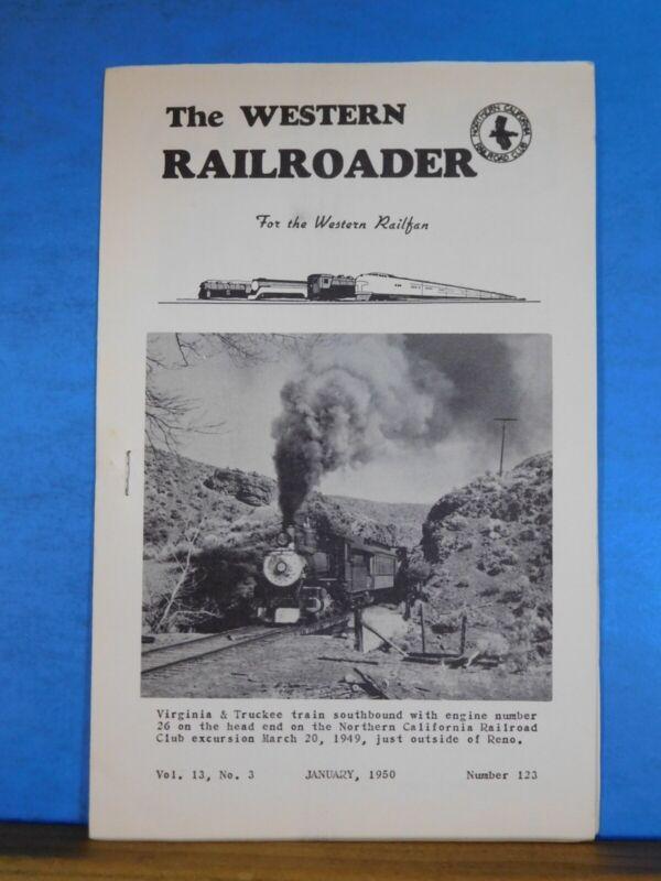 Western Railroader #123 January 1950