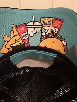 Rare Taco Bell Supreme Hat Tie Lapel Pin Hot Fire Diablo Mild Vintage