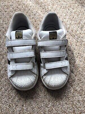 Infant Adidas Superstar size 9,5