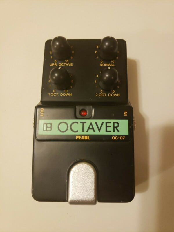 Vintage Pearl OC-07 Octaver Octave Effects Pedal Analog