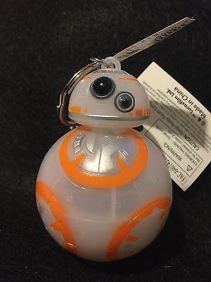 Original Disney Park Bb 8 Talking   Light Up Keychain   Sold Out   Vhtf