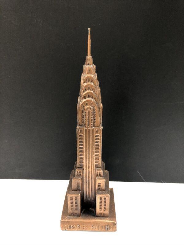Chrysler Building NYC Souvenir statue
