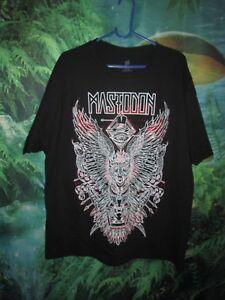 Mens Mastodon Illuminati Top Hat Band Shirt XL (B)