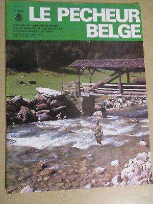 LE PECHEUR BELGE: N°6: JUILLET AOUT 1986: PECHE ET PISCICULTURE