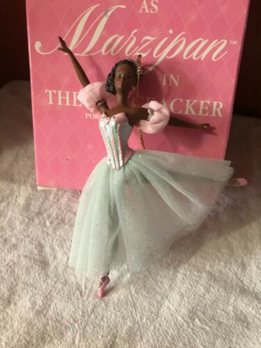 Barbie Porcelain Ornament--Marzipan in The Nutcracker--African American-1999