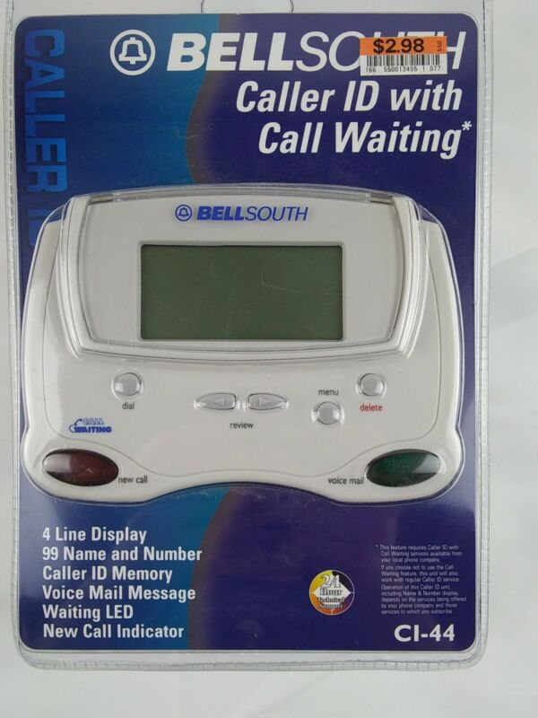 BellSouth Caller ID with Call Waiting Model CI-44 Unopened in Original Package