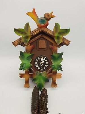 Vintage Double Weight Cuckoo Clock