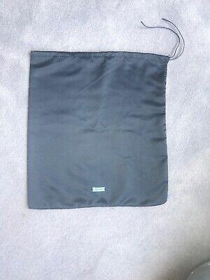 New Prada Drawstring Dust Bag Travel Pouch Only