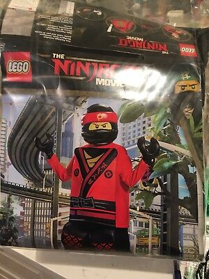NEW LEGO NINJAGO MOVIE Boys Prestige Halloween Costume Red KAI Size M 7-8](Ninjago Halloween Costumes Kai)