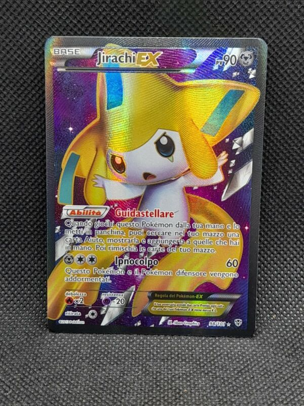 Pokemon Japanese Jirachi 235//XY-P Premium Champion Pack Full Art Promo Near Mint