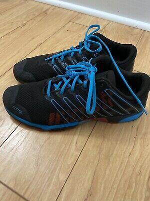 Inov-8 F-Lite 240 Running Shoes Black/Blue Women's 9.5 Men's 8 Sneaker